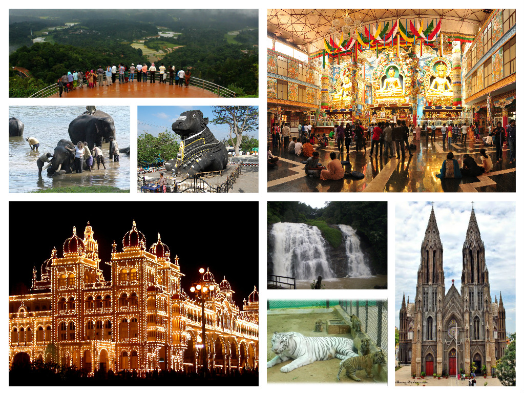 mysore and coorg package tour images