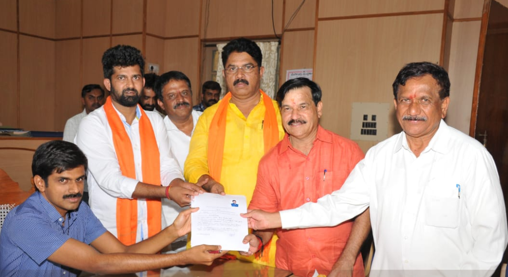 Simha files nomination