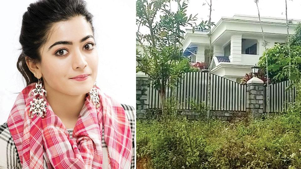 Rashmika Mandanna appears before IT Officials